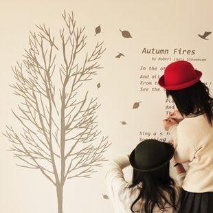 韓國牆貼窗帖|浪漫滿屋|可愛創意壁貼 -kor008