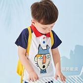 短袖polo衫兒童POLO衫童裝男童夏季短袖上衣童裝2018新品夏裝寶寶T恤打底衫