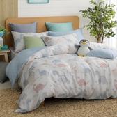 鴻宇 雙人加大兩用被床包組 天絲 萊塞爾 恐龍探險 台灣製2199