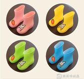 兒童雨鞋1-7歲幼兒水鞋男女童兩用防滑寶寶套鞋小孩雨靴四季膠鞋 美斯特精品