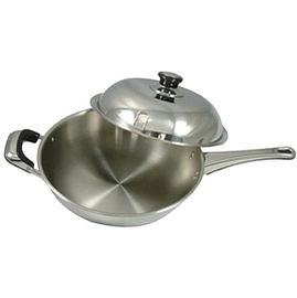 《仙德曼》七層複合金平煎鍋-單柄 /30cm