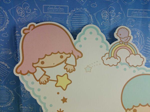 【震撼精品百貨】Little Twin Stars KiKi&LaLa 雙子星小天使~造型卡片_星星