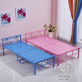午睡椅 折疊床單人床簡易雙人床午休午睡床躺椅鐵藝鋼絲床陪護床xw