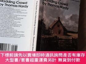 二手書博民逛書店Far罕見from the Madding Crowd(哈代《遠離塵囂》英文原版 Bantam Classic)奇