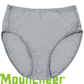 【Mountneer 山林 女 透氣三角中腰內褲 淺灰】 11K82/三角褲/中腰內褲★滿額送