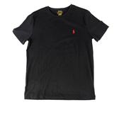 【RALPH LAUREN】圓領短袖棉T(黑色) 883862188532 BLACK