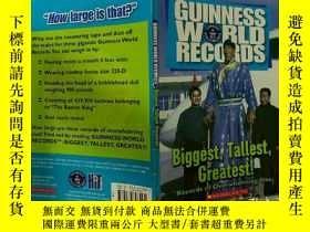二手書博民逛書店Guinness罕見World Records:Biggest,Tallest,Greatest:吉尼斯世界紀錄: