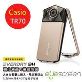 TWMSP★按讚送好禮★EyeScreen EveryDry Casio TR70 AGC 玻璃相機螢幕保護貼