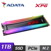 【ADATA 威剛】XPG S40G RGB 1TB M.2 2280 PCIe SSD 固態硬碟