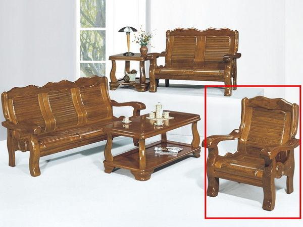 沙發組 KO-17-2 110型1人組椅 (不含大小茶几)【大眾家居舘】