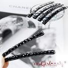 【Q30A98】魔衣子-黑色水晶小方塊造...