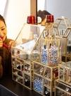 收納盒 桌面玻璃非亞克力家居唇釉刷桶整理護膚梳妝臺置物架【新年禮物】