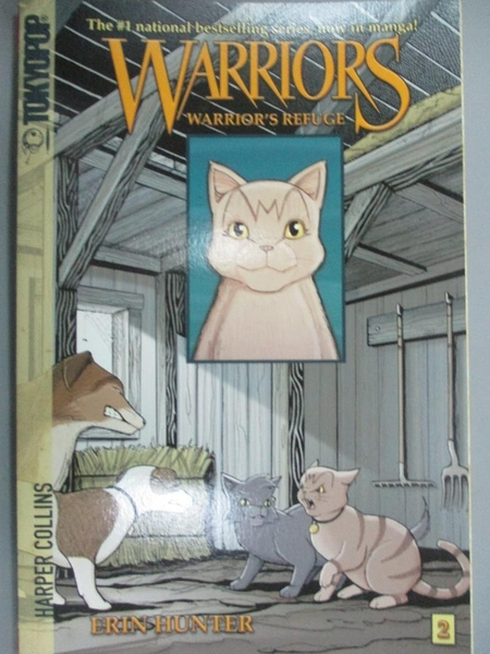 【書寶二手書T4/原文小說_NSC】Warrior's Refuge_Hunter, Erin (CRT)/ Jolle