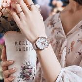手錶女新款學生簡約氣質時尚防水女士手錶小眾輕奢森女系  享購