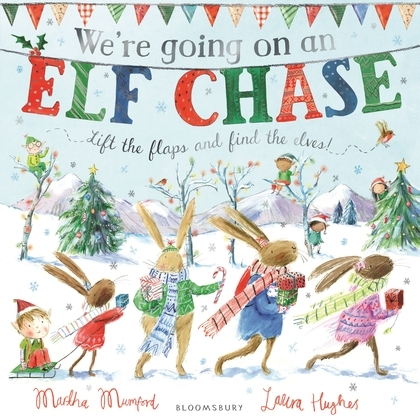 【麥克書店】WE'RE GOING ON ELF CHASE /英文繪本 《主題:節慶.小鼠波波》
