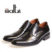 Waltz-歐風時尚雕花德比鞋212141-02(黑)