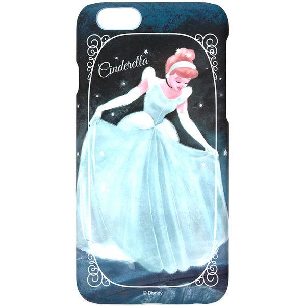 iJacket iPhone 6 / 6s 迪士尼 復古霧面硬式保護殼 - 灰姑娘