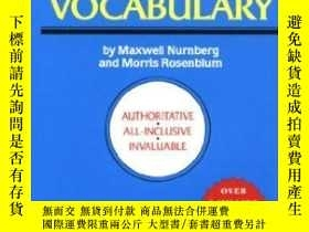 二手書博民逛書店How罕見To Build A Better VocabularyY256260 Maxwell Nurnbe