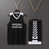 路人王球衣籃球男潮打籃球運動套裝藍球服背心速干訓練服
