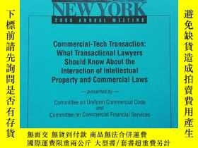 二手書博民逛書店Commercial-tech罕見transaction:wha