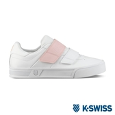 【K-SWISS】Court Lite Velcro休閒運動鞋-女-白/粉紅(96316-172)