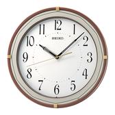 CASIO 手錶專賣店 SEIKO 精工 掛鐘專賣店 QXA748B 歐式風格時尚掛鐘 滑動式秒針 31.6公分