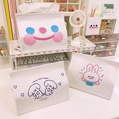 面紙盒抽紙盒韓版可愛客廳收納盒少女心紙抽盒【聚寶屋】