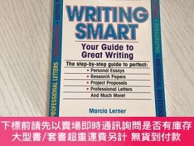 二手書博民逛書店writing罕見smartY20850 Marcia Lerner Random House 出版1994