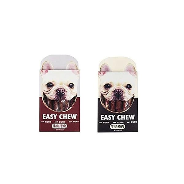 寵物家族-【EASY CHEW】 耐嚼磨牙棒-捲肉系列 (2口味) 5支/盒