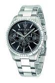 【Maserati 瑪莎拉蒂】/三眼鋼帶錶(男錶 女錶)/R8853100010/台灣總代理原廠公司貨兩年保固