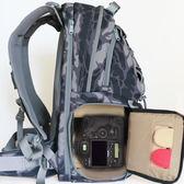 寶羅攝影包雙肩包專業旅行大容量背包單反相機數碼戶外兩用上下層【全館八八折促銷】