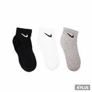 NIKE 襪 U NK EVERYDAY LTWT ANKLE 3PR 基本款短襪組 - SX7677901