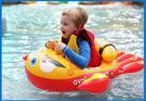 [韓風童品] 韓國Avalon兒童游泳圈 龍蝦款游泳圈 兒童戲水座圈 環保PVC 遮陽棚防曬泳圈