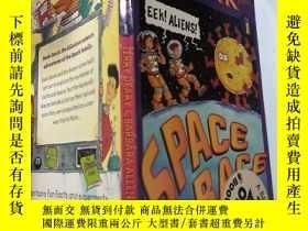 二手書博民逛書店space罕見race the spark files: 太空競賽火花文 件Y200392