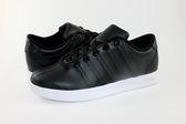 【K-SWISS】Court Pro S CMF黑×白 皮質休閒運動鞋05117-002男