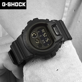 G-SHOCK 低調堅毅全黑電子錶NECG35