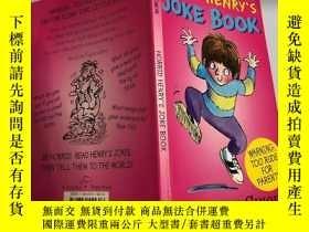 二手書博民逛書店Horrid罕見Henrys joke book 亨利的笑話Y200392