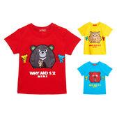 WHY AND 1/2 mini 棉質萊卡T恤 1Y~4Y 多色可選