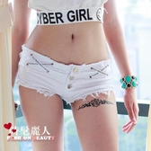 夏季牛仔短褲女熱褲歐美超短夜店表演女裝性感低腰潮實拍