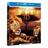 【停看聽音響唱片】【BD】非洲巡禮3D