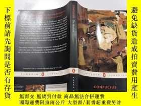 二手書博民逛書店Confucius罕見The Analects:孔子《論語》Y212829
