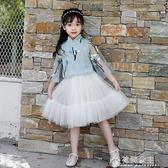 女童夏裝套裝夏季新品中國風兩件套唐裝裙古風漢服兒童旗袍套花間公主