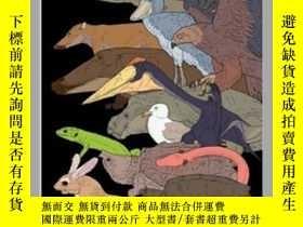 二手書博民逛書店四足動物學罕見tetrapod zoology book one