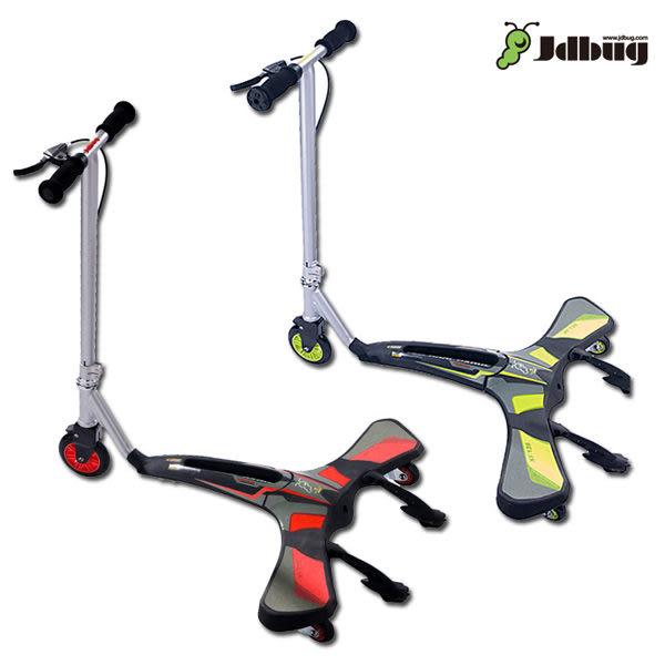 Jdbug COOL CARVER滑板車XF136/城市綠洲(滑步車.單車.腳踏車)