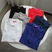福利啦!低于成本!外貿尾貨夏季男士百搭簡約純色短袖POLO衫T恤 美芭