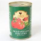 義大利【ORO】去皮切丁蕃茄  400g