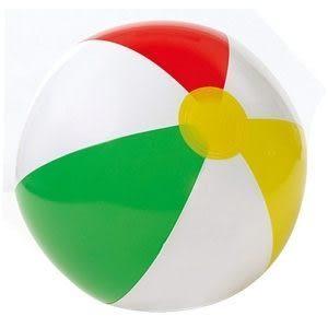 [衣林時尚]INTEX 16吋 沙灘球 海灘球  (充氣後約28cm) 59010