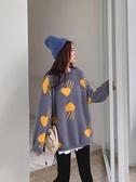 毛衣網紅毛衣女2020時尚外穿韓版學生洋氣百搭初秋季套頭針織衫潮春季新品