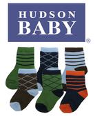 [Mamae] (6件/套)美國 HUDSON BABA 初生嬰兒必備套裝組 棉質條紋寶寶襪子 出生嬰兒幼兒禮盒  週歲禮盒