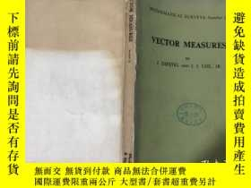 二手書博民逛書店VECTOR罕見MEASURES 向量測度(英文)Y219618